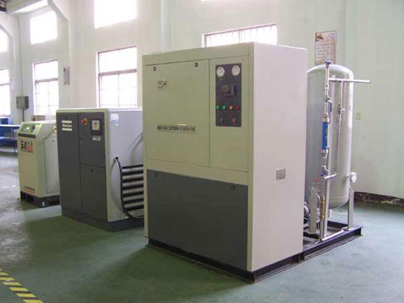 Médico do nitrogênio que faz a máquina, Gerador de Nitrogênio PSA, PSA Gerador de nitrogênio Fabricante